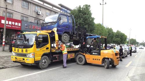 交通安全大会战在行动