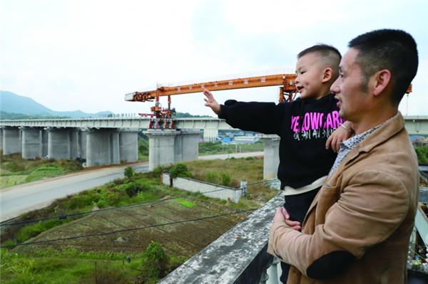 衢宁铁路建设如火如荼