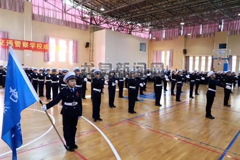 第一届少年交通警察学校的培训课程顺利完成