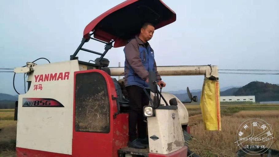 郑永明:一家三代都是农机人