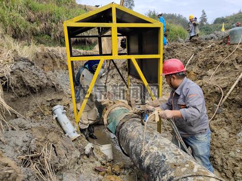 云和―龙泉天然气管道建设工程(龙泉段)全速推进