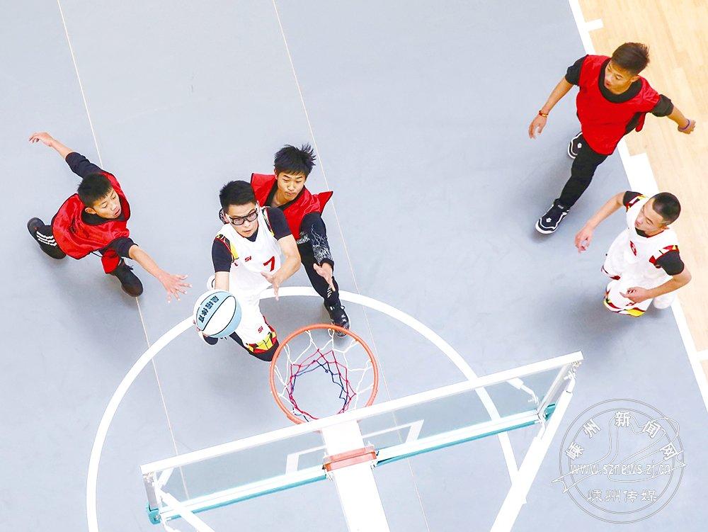 篮球争霸赛开赛