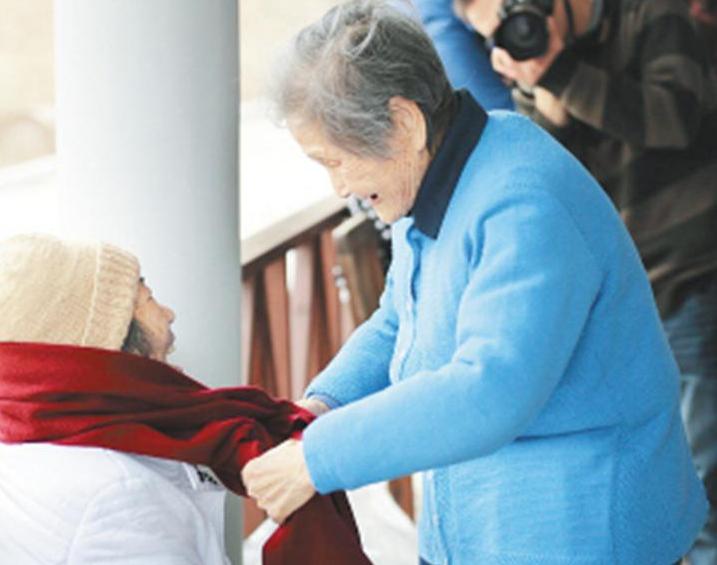 """97岁做志愿者 央视点赞101岁上虞""""最美老太太"""""""