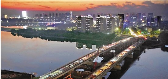 浙江日报丨衢州:一座桥见证城市蝶变