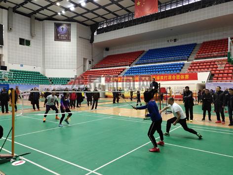 """龙泉市第五届""""佳和杯""""大众羽毛球双打混合团体赛举行"""