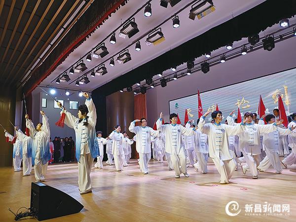 乡村武林大会举行