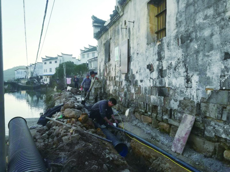 三门源景区将实现生活污水零直排