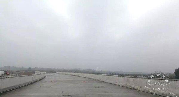 527国道四明江桥收官
