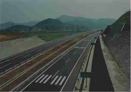 2000年12月上三高速嵊州段通