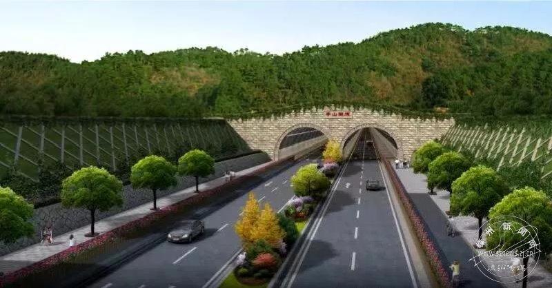 杨港路东延工程亭山隧道贯通