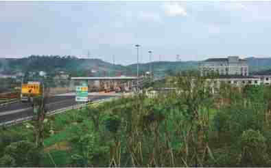 2015年6月,甬金高速嵊州南互通暨连接线正式开通