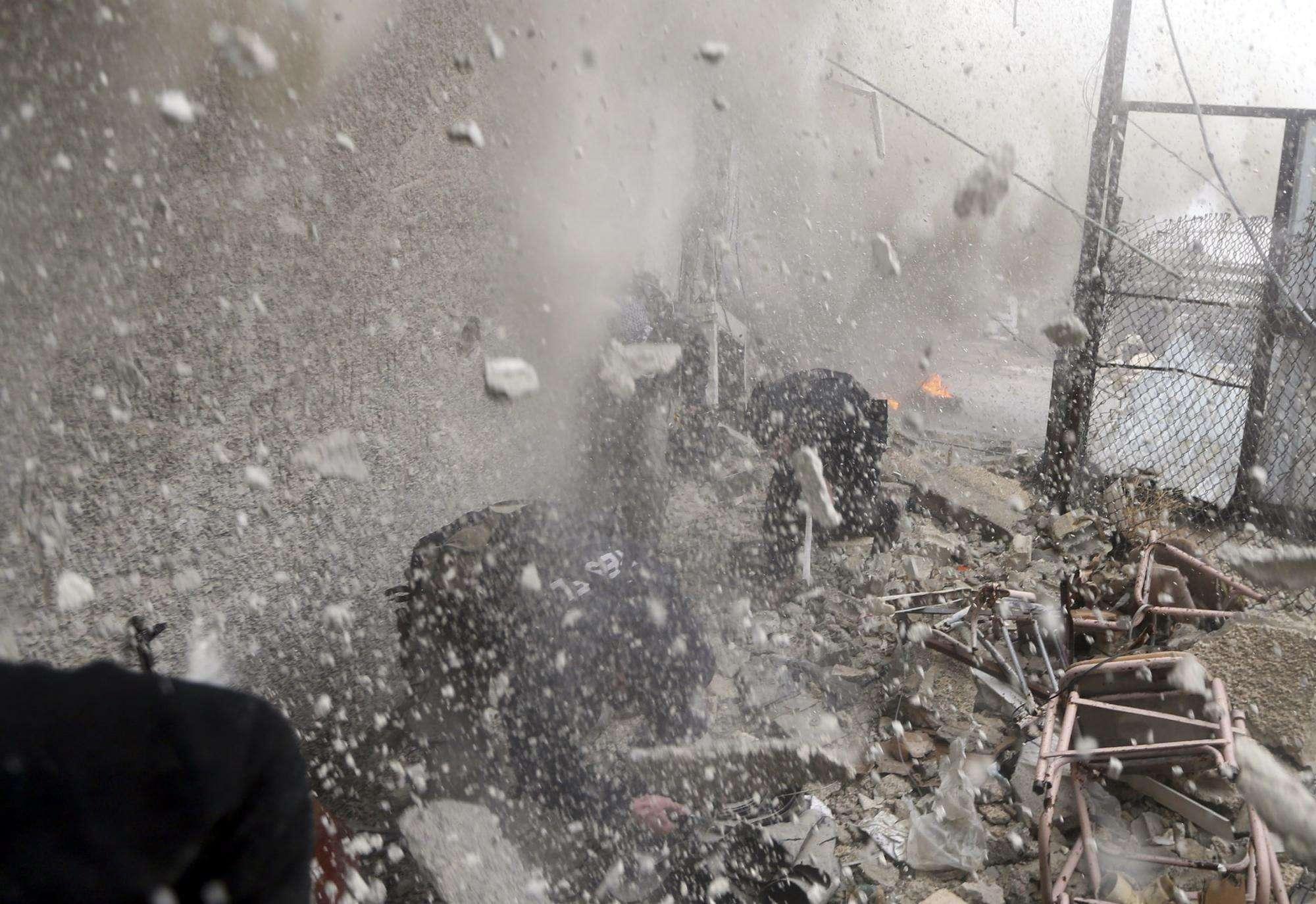 叙军方称以对叙发动导弹袭击致3人受伤
