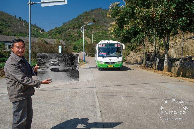 【改革开放40周年】新旧照片对比,见证嵊州40年交通蝶变