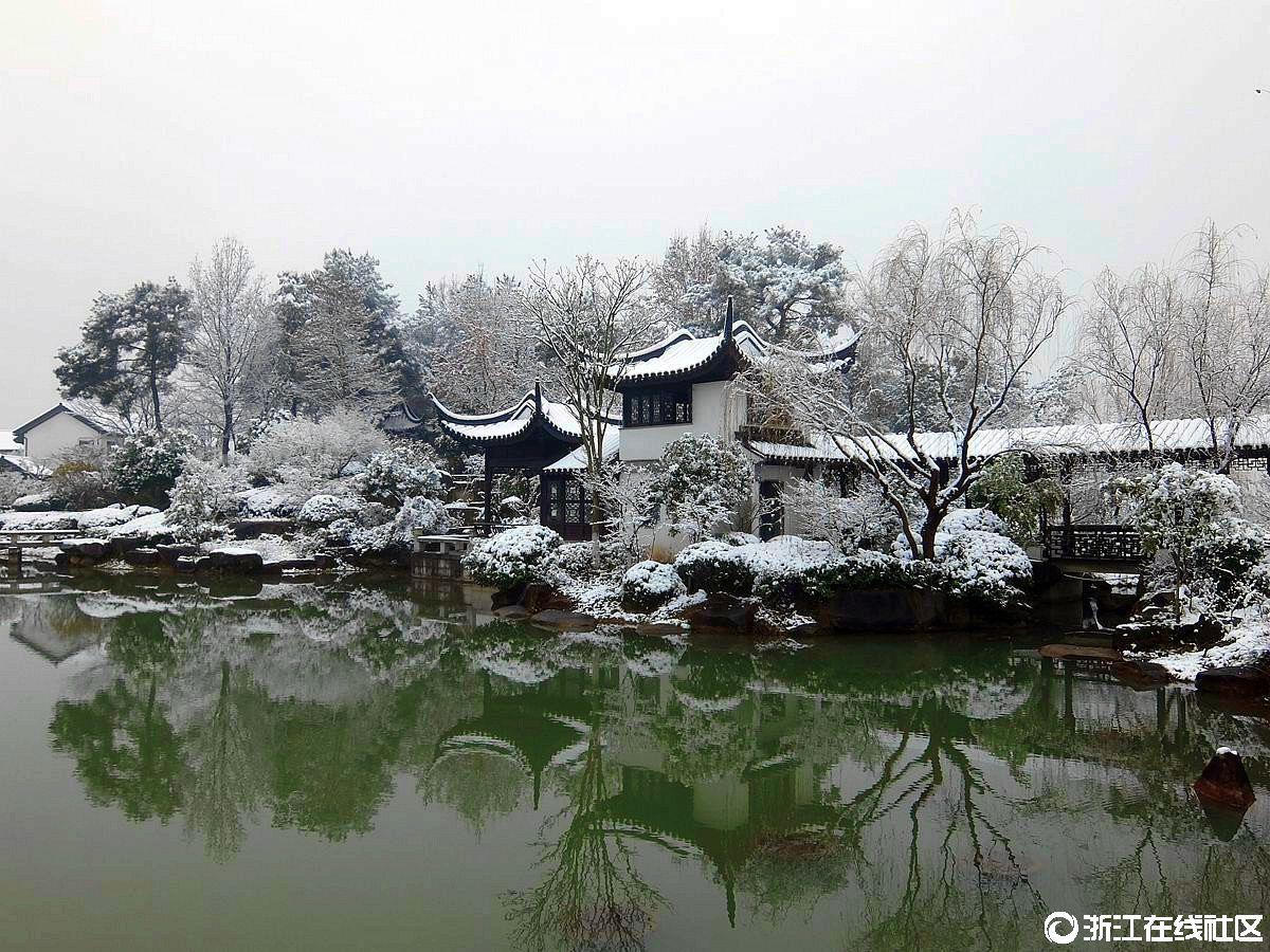 【行行摄摄】越剧艺校雪景