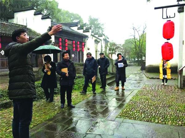 龙游石窟风景旅游有限公司导游年终考核