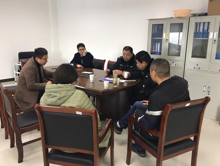 劳动监察大队检查农民工欠薪问题