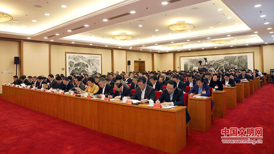 全國文明辦主任會議在京召開