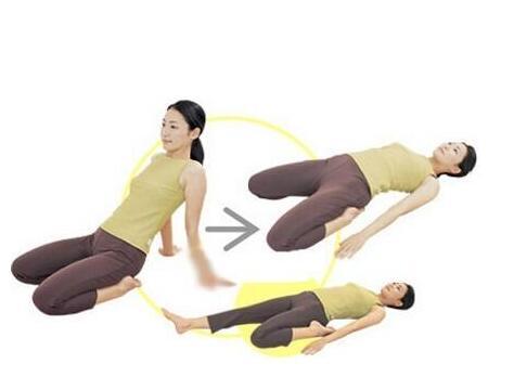 无法瘦腿可能是因为肠胃出问题?学学这个瑜伽动作
