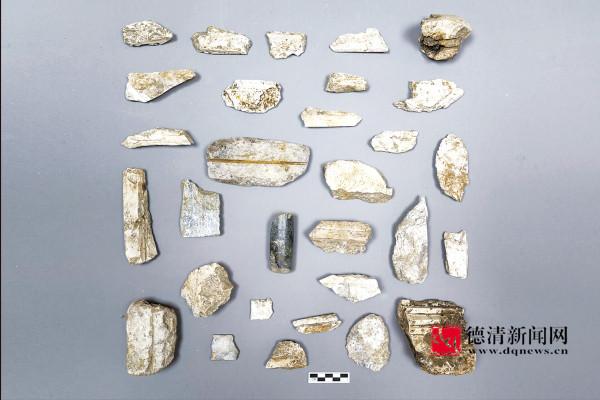 良渚玉器产杨墩 中初鸣遗址成省十项重要考古发现之一