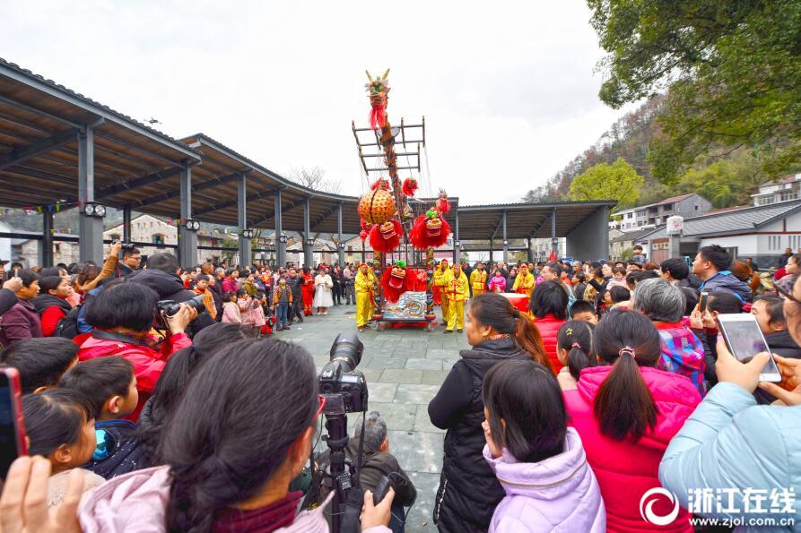 仙居:多彩民俗迎新年