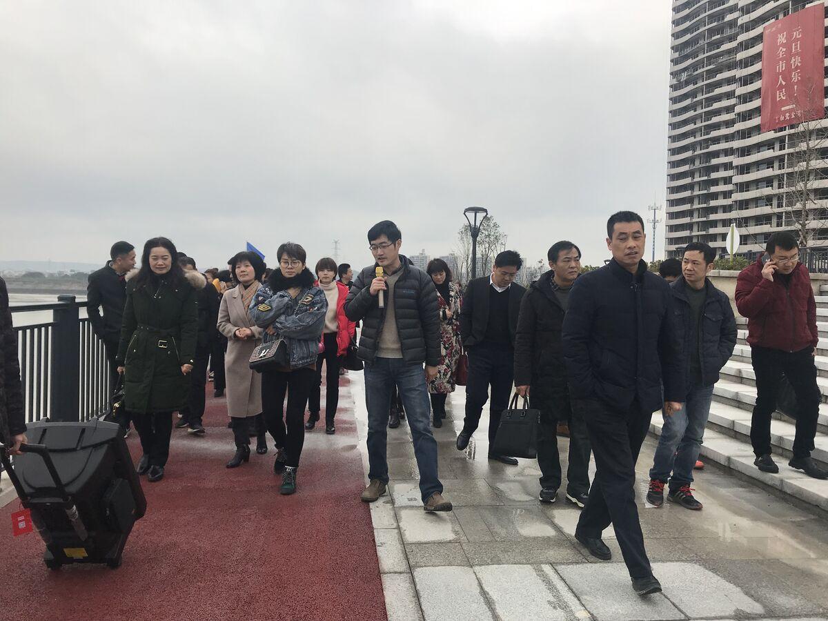 城南新区(三江街道)议政会成员视察美妙三公里二期