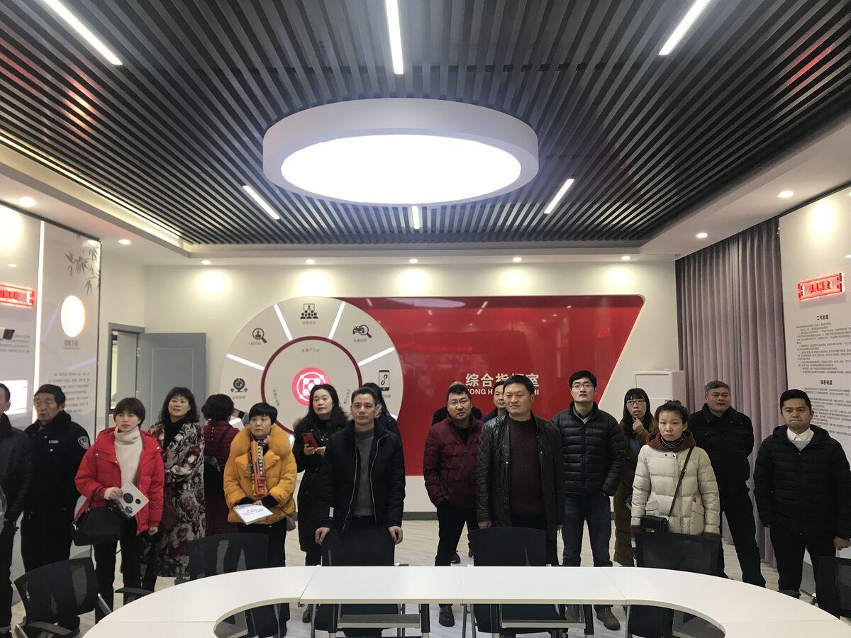 城南新区(三江街道)议政会成员视察桥里村