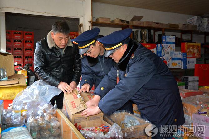 县市场监督管理局开展春节市场专项整治行动