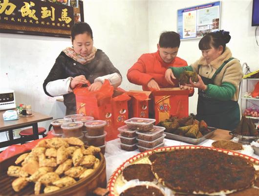 武汉m88临近春节:乡村厨娘忙忙忙