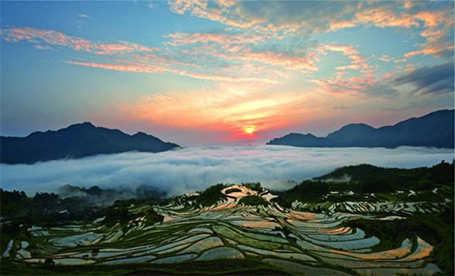 云和旅游看景更是养心 文明让旅游更美好