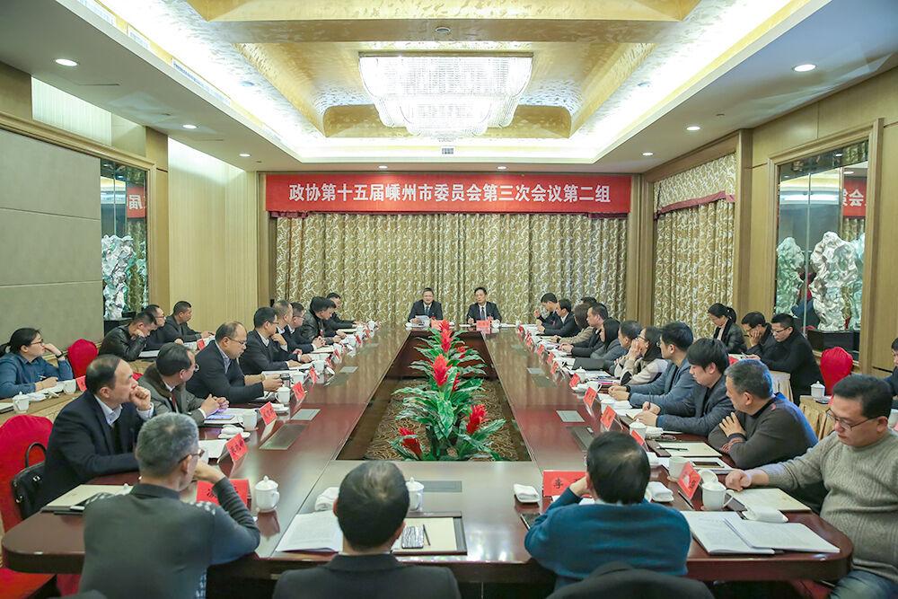 徐建役参加人大第一代表团审议和政协第二组讨论