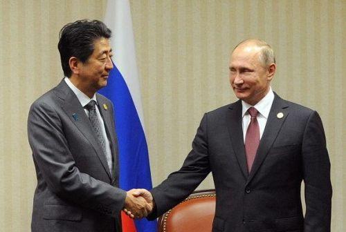 俄日首脑会谈未获实质进展