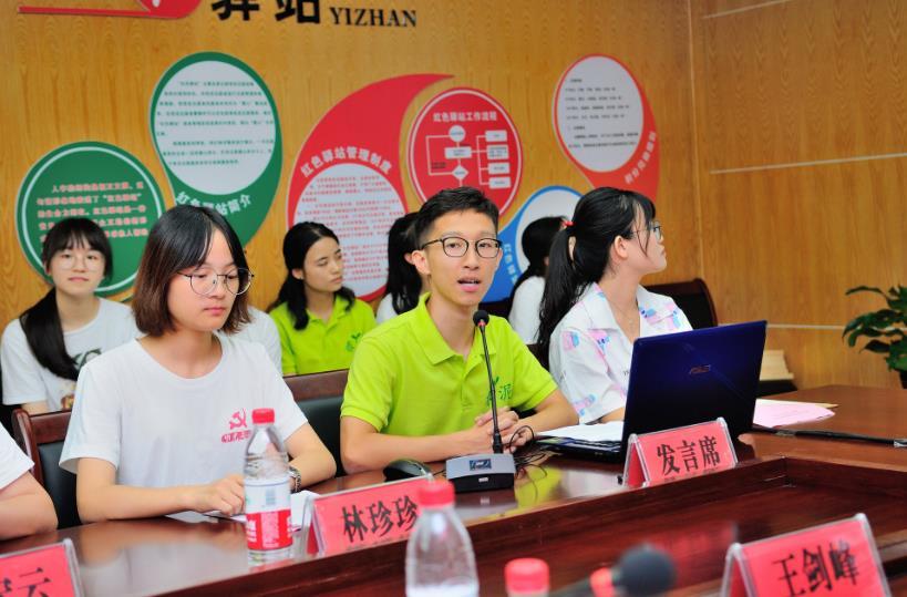 """浙江工业大学一行看望安吉""""春泥计划""""暑期社会实践学生"""