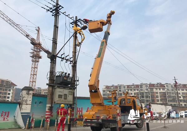 改造线路保供电