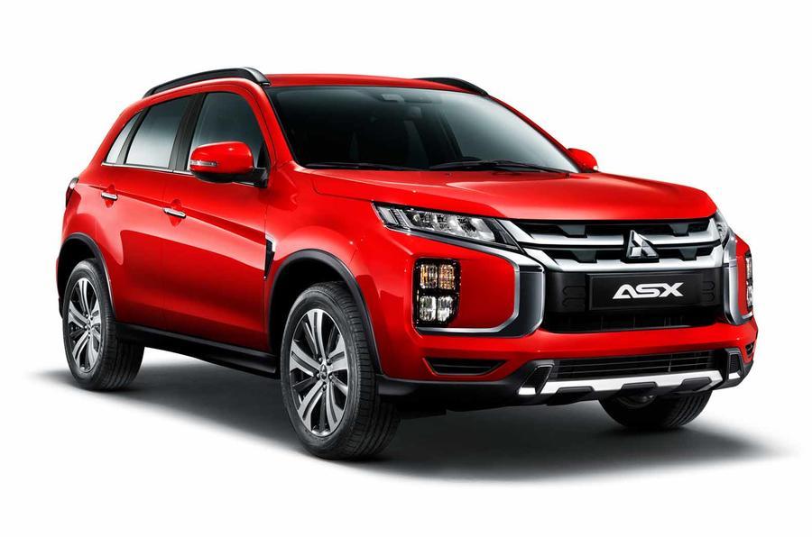新款三菱ASX预告图发布 外观升级