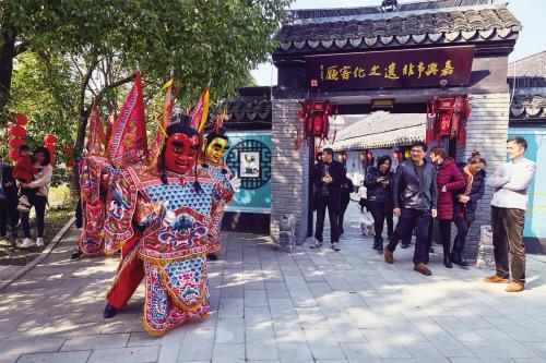 """这个春节,秀洲群众共享自制浓浓年味""""文化大餐"""""""