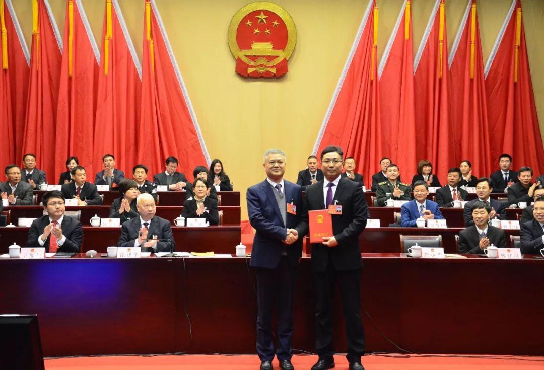 张少华满票当选常山县人民政府县长