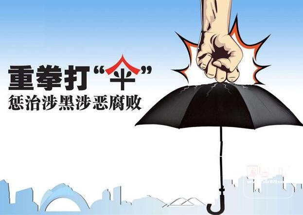 """我省严打涉黑涉恶腐败及其""""保护伞"""""""