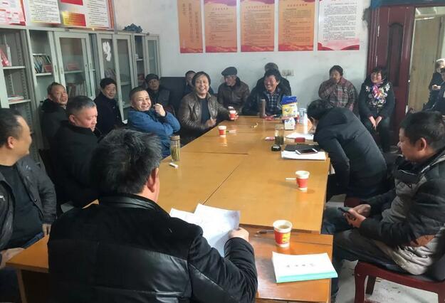 100个村全部顺利召开村民代表大会