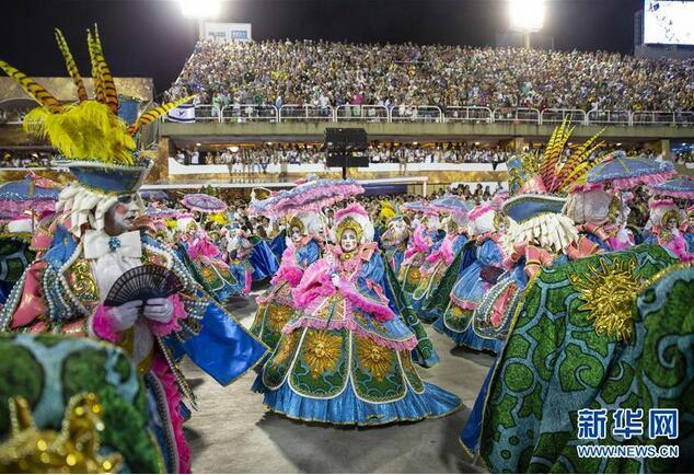 巴西里约举行狂欢节