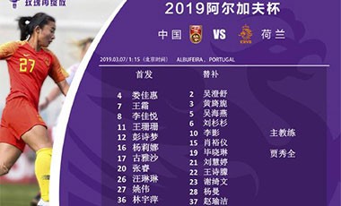 阿尔加夫杯垫底 中国女足找不足