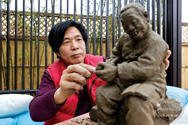 蔡国平:生活有温度 作品才有灵性