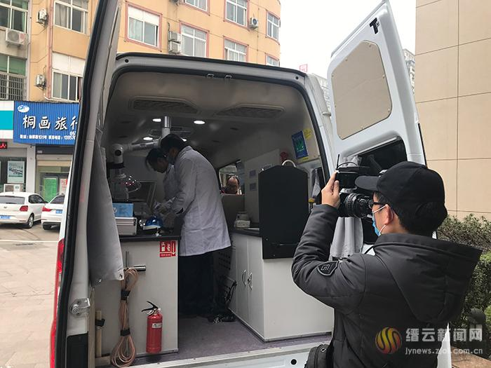 启用食品安全快速检测车 保障餐饮安全