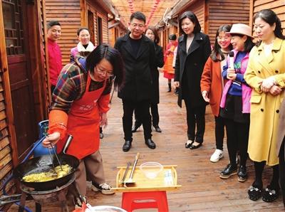 细品б░舌尖上б▒的邻里情 芦浦开展巧手厨娘大作战活动