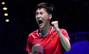全英羽毛球公开赛:陈雨菲夺女单冠军