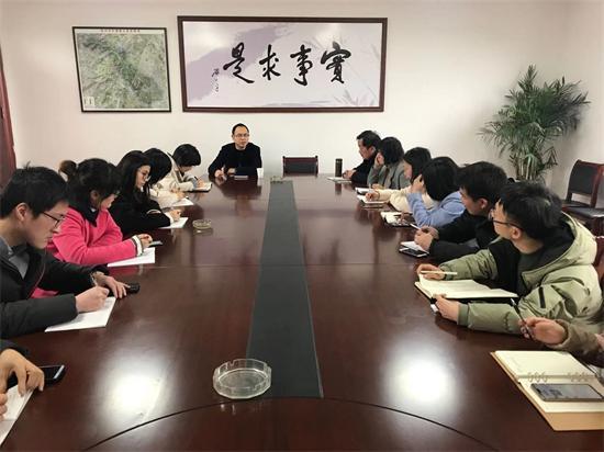 """石璜镇召开""""学习强国""""APP管理员培训会"""