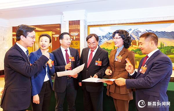 陈爱莲代表热议通航产业发展