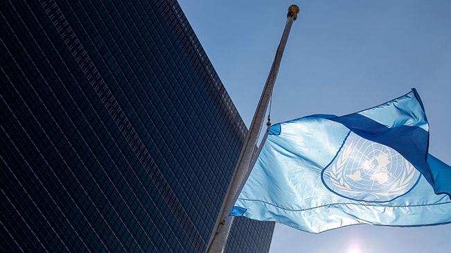联合国悼念埃塞俄比亚坠机事?#25163;?#36935;难的联合国工作人员