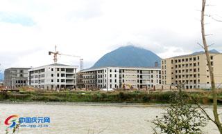 菊隆中学迁建工程预计今秋开学投入使用