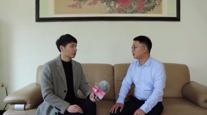 """记者跑""""两会""""丨龙泉市政协委员郭慧康建言汽车空调产业发展"""