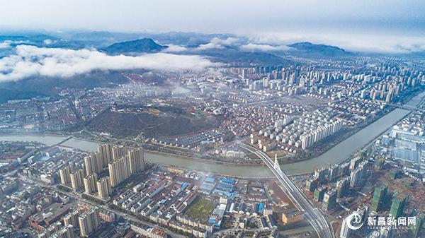 空中看新城